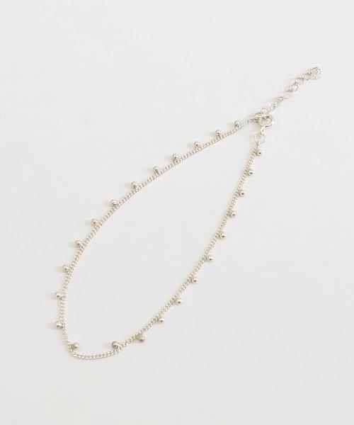 (silver925) form anklet