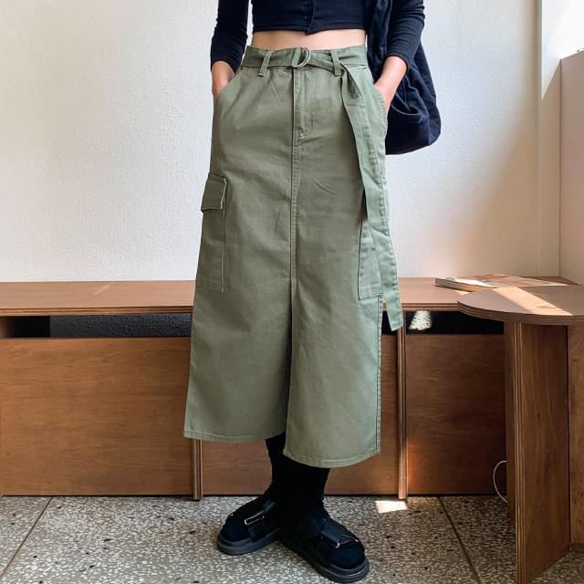 Barnett Cargo Long Skirt