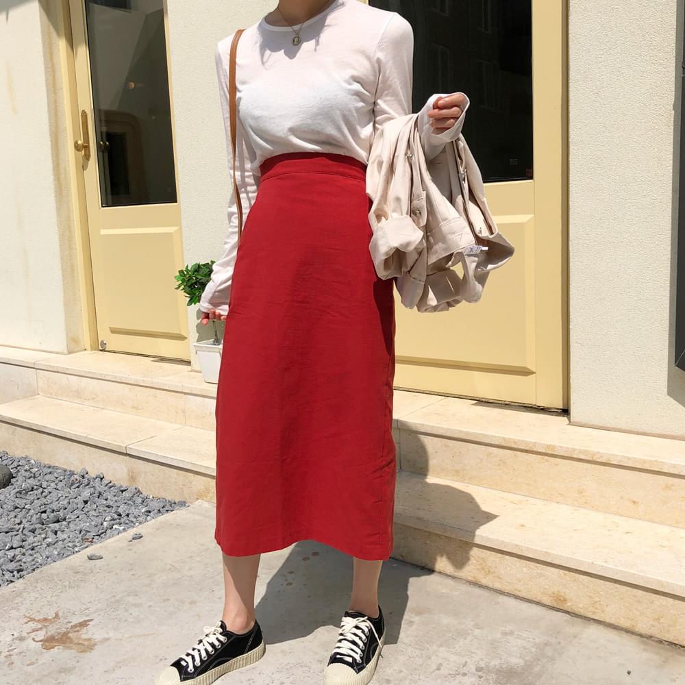 Rippled skirt