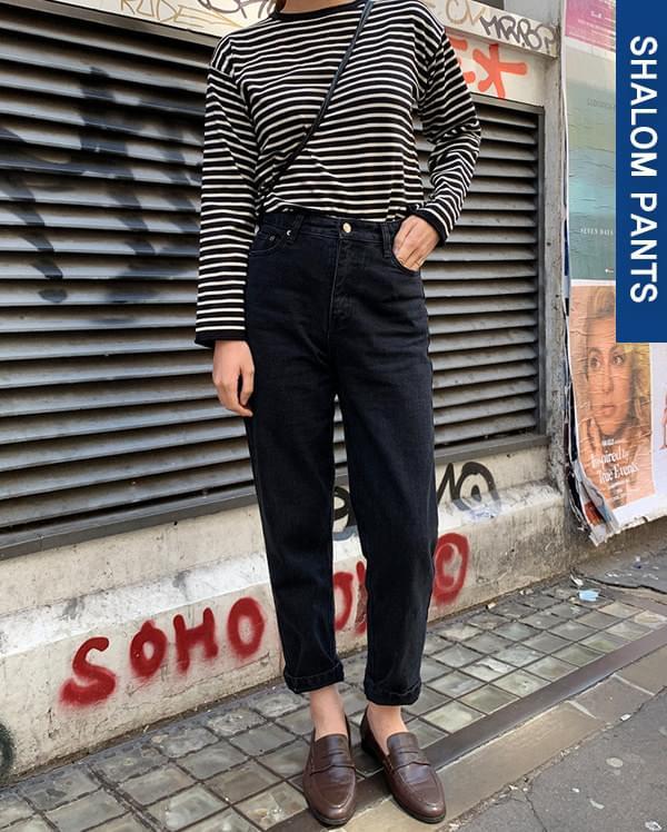 105_standard denim pants