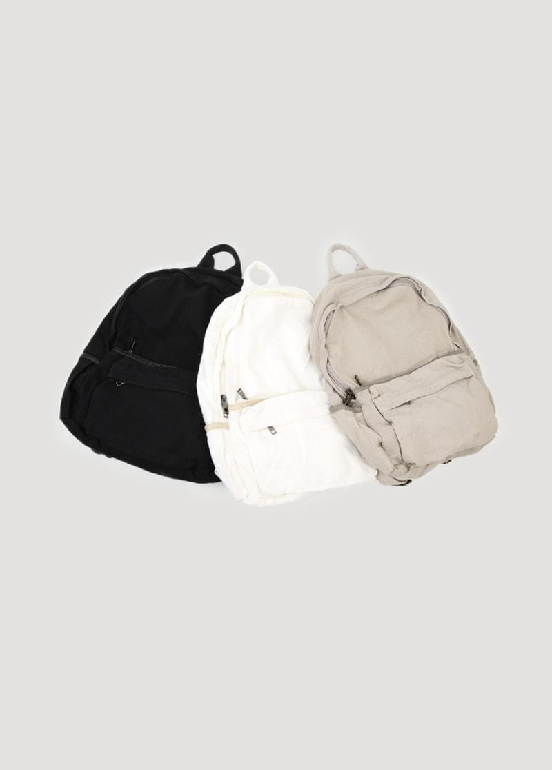 Basic cotton backpack