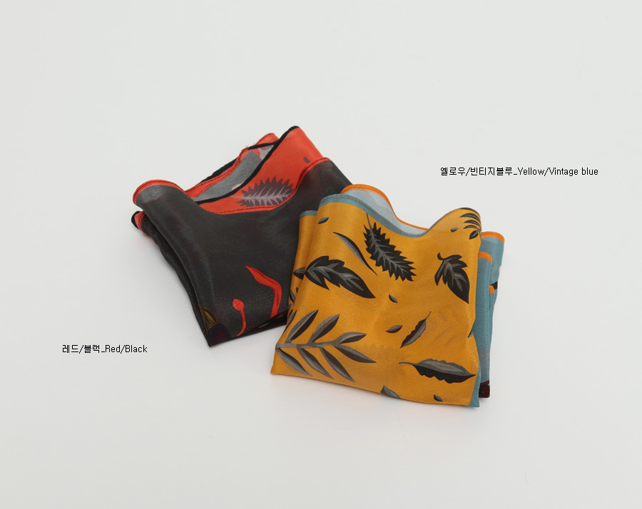Noble silk scarf_C