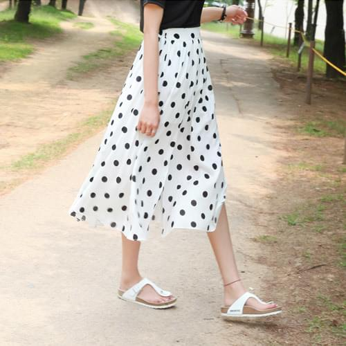 Crandot trim skirt