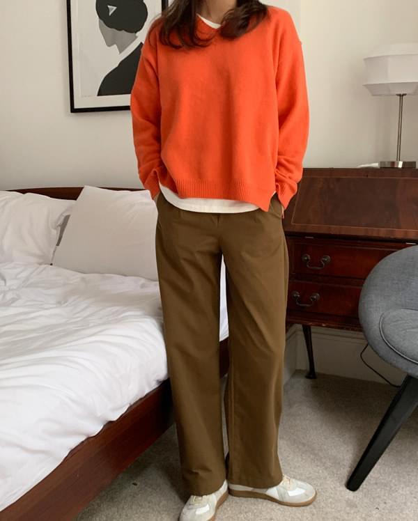 may calin wide pants