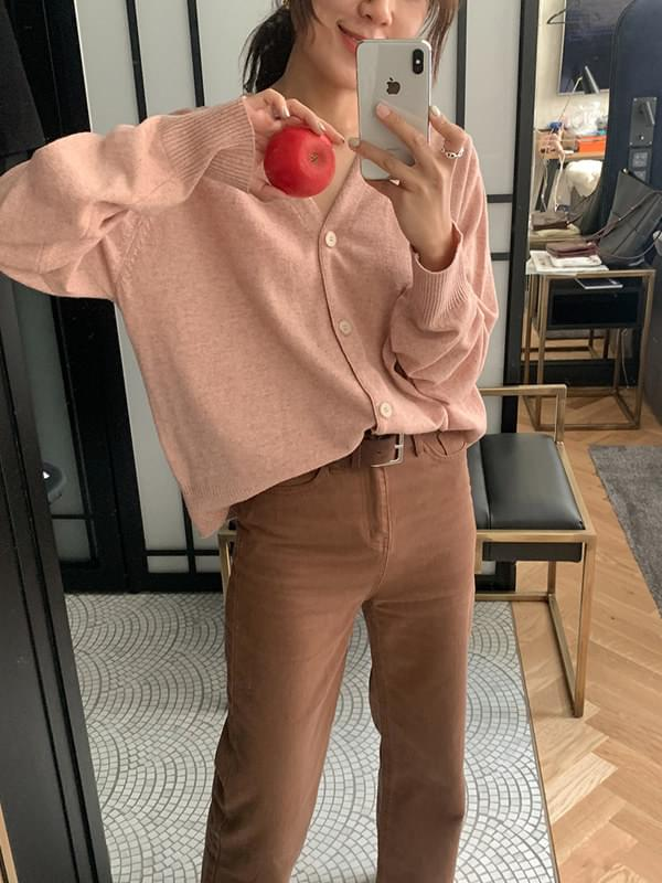 Brow colored chino pants