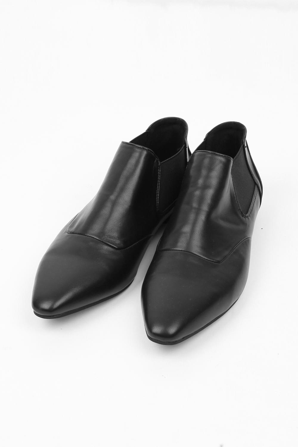 missy mood leather loafer (2colors)