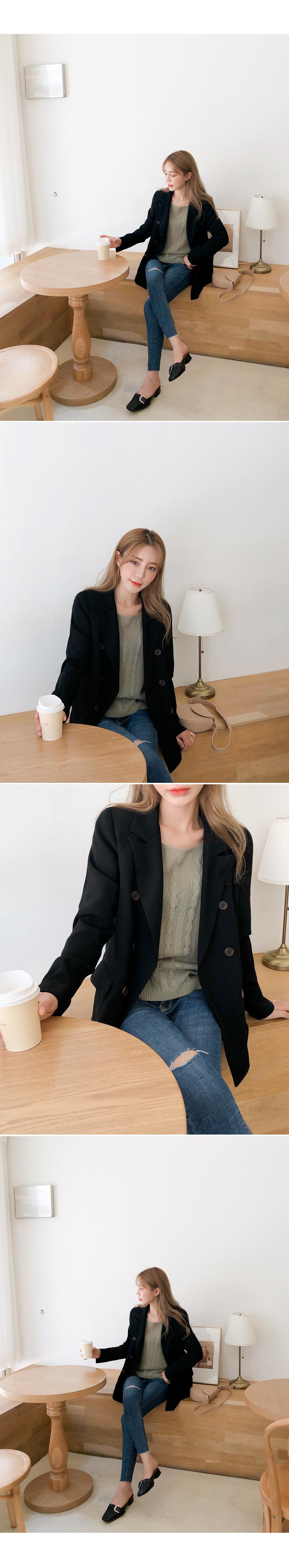 Protective instinct cardigan + knit SET