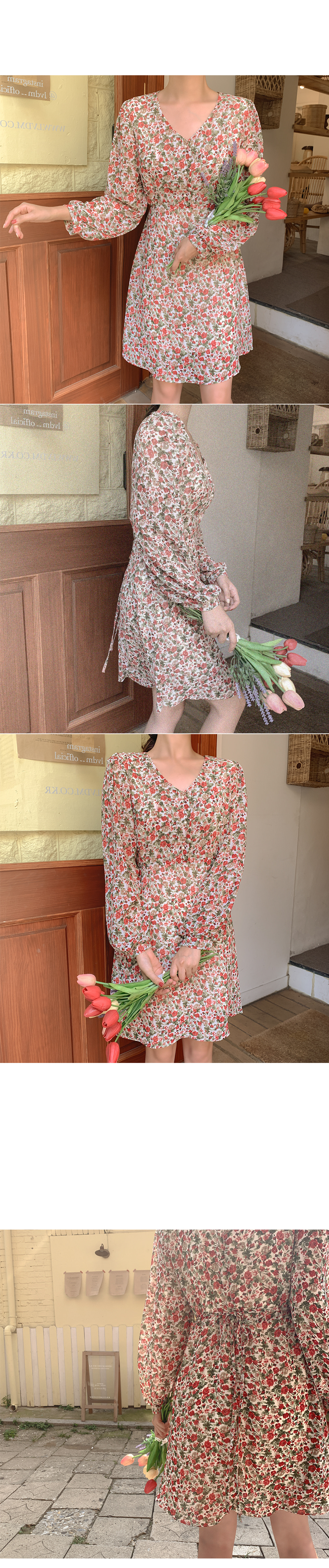 Tori flower dress