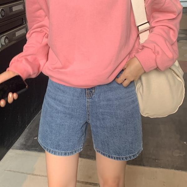Leone Denim Short Pants