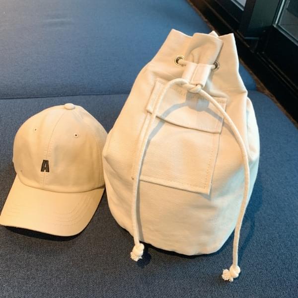 White demolished bag