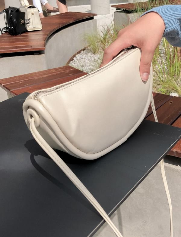 half moon shape daily bag