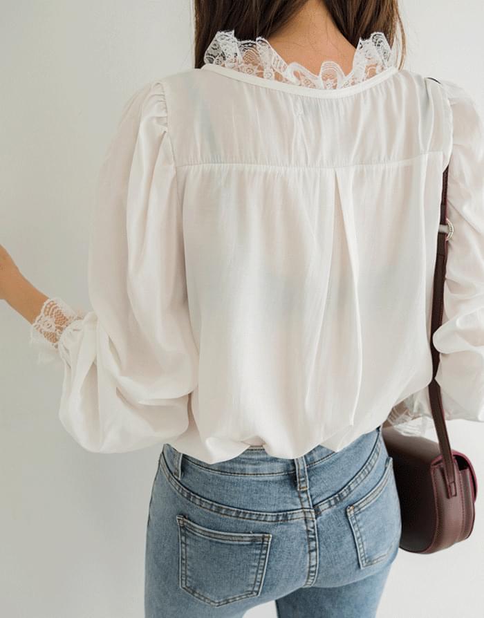 Lace queen blouse