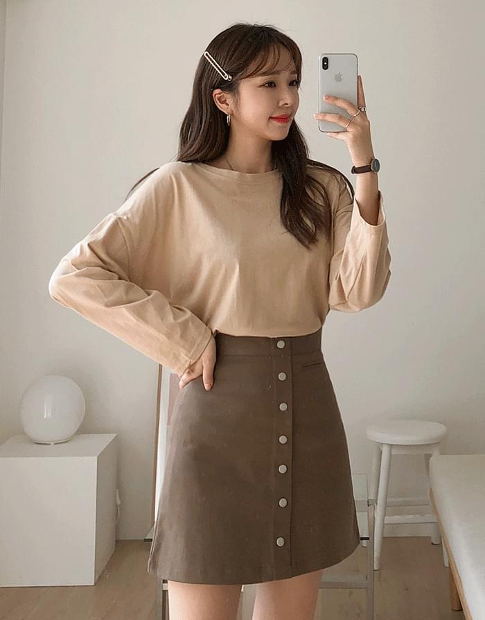 Skirt Button Skirt