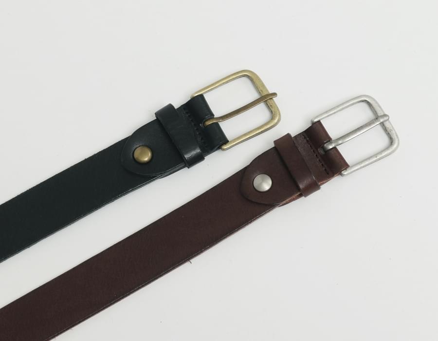 Column simple buckle belt_C