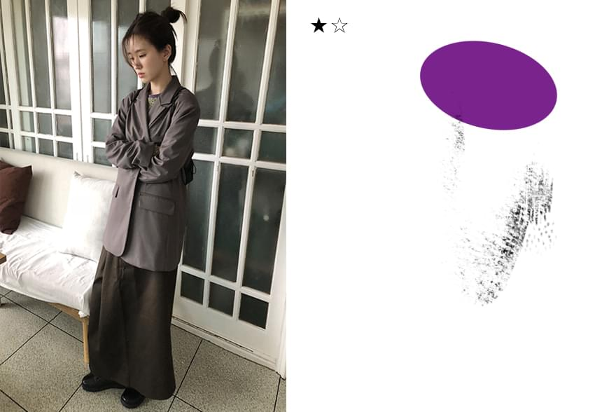 basic string jacket (2colors)