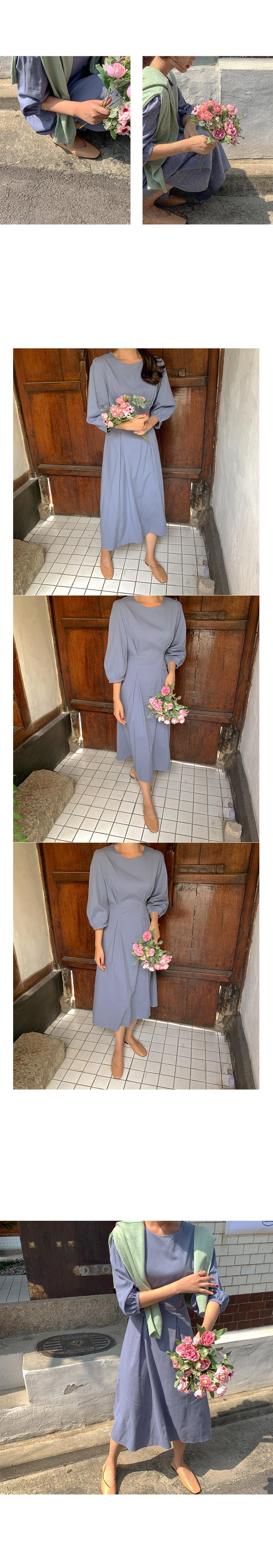 Mina Pintuck Dress