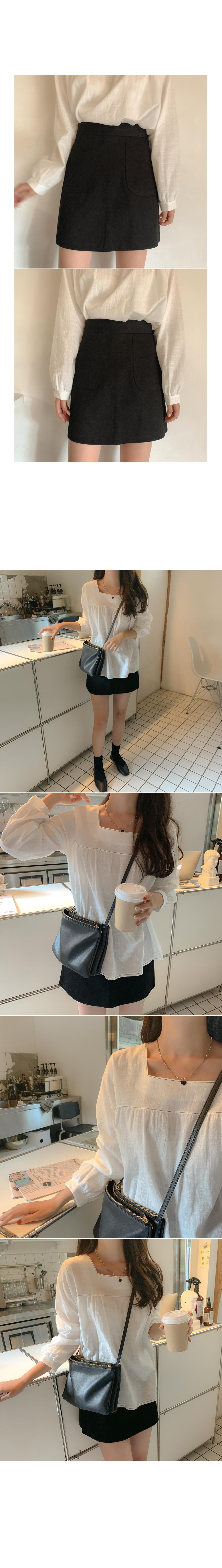 Live pocket skirt