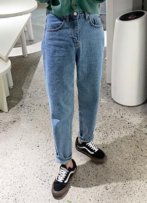 Walnut Boyfit Denim Pants