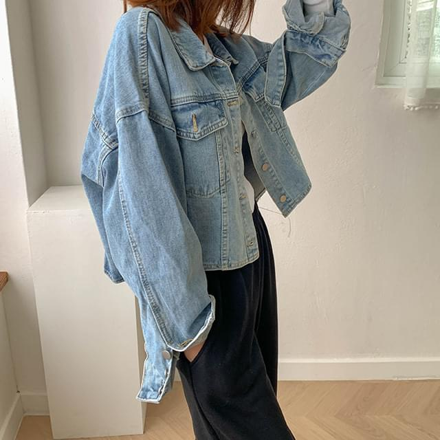 Cropped Denim Jacket 夾克外套