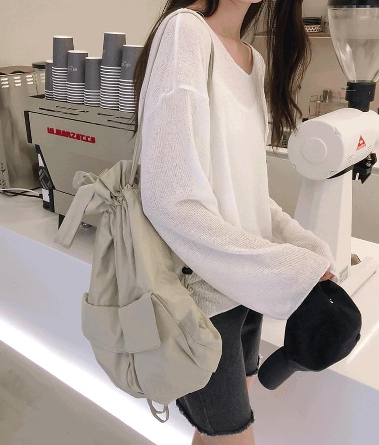 Marang Linen Knit T-Shirt