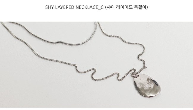 Shy layered necklace_C
