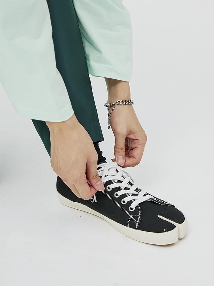 tabi canvas shoes - men