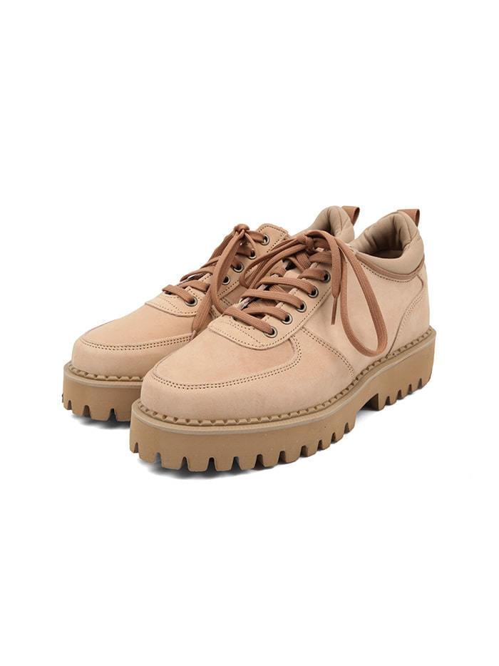 cow hide platform shoes (3 color) - men