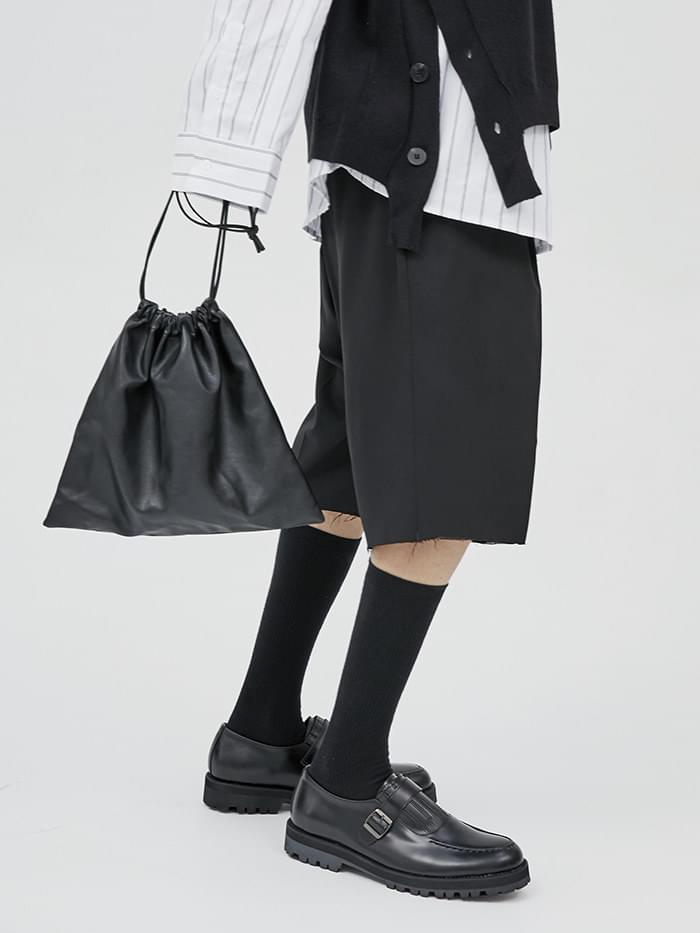 leather pouch bag (3 color)
