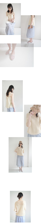 rose yam combine hat (2colors)