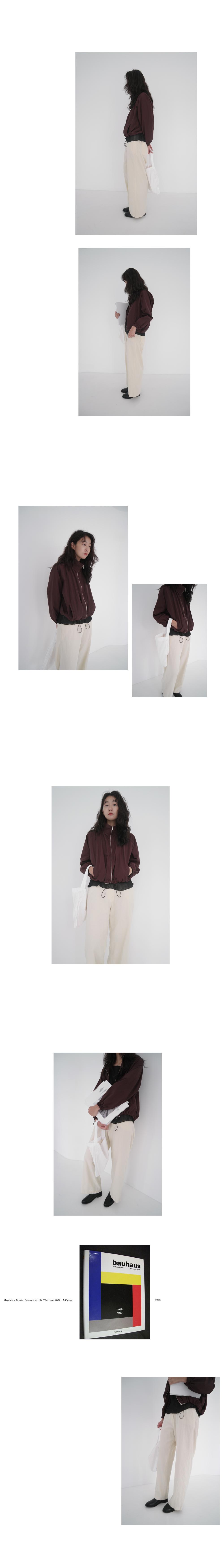 natural banding pants (2colors)