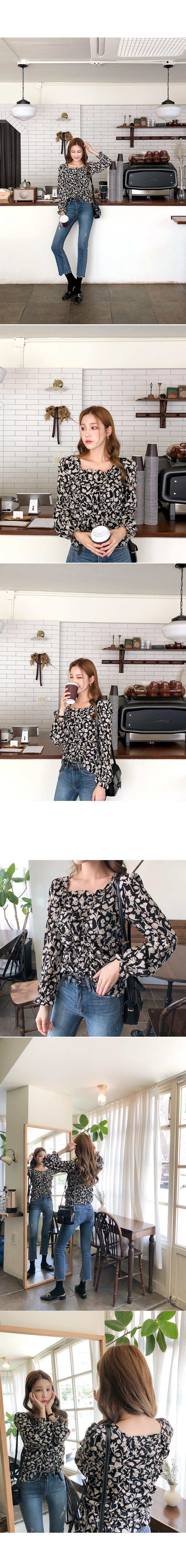String shearing pretty blouse