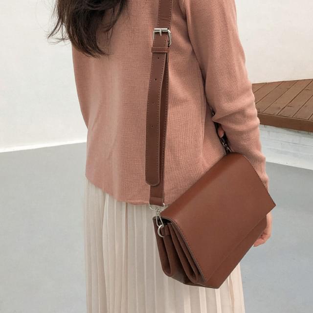 chic square shape bag