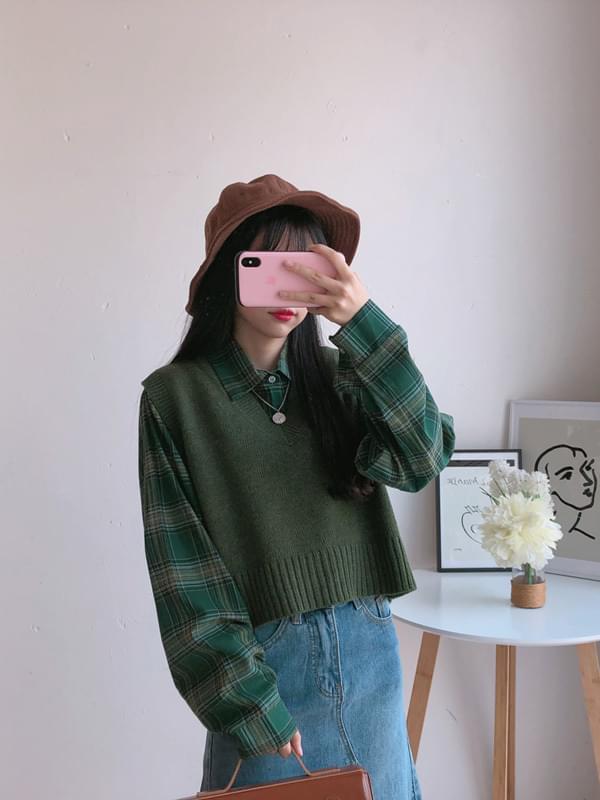 Daily knit vest