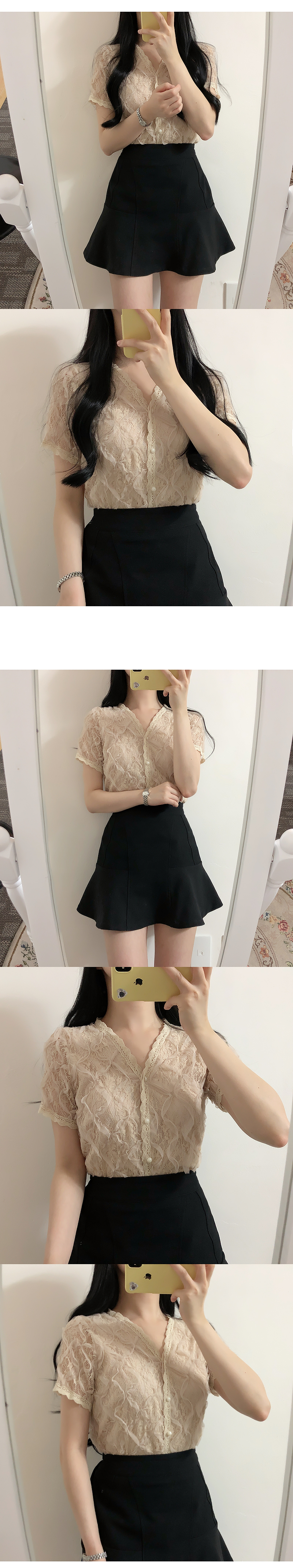 Same day ♥ Dial lace blouse