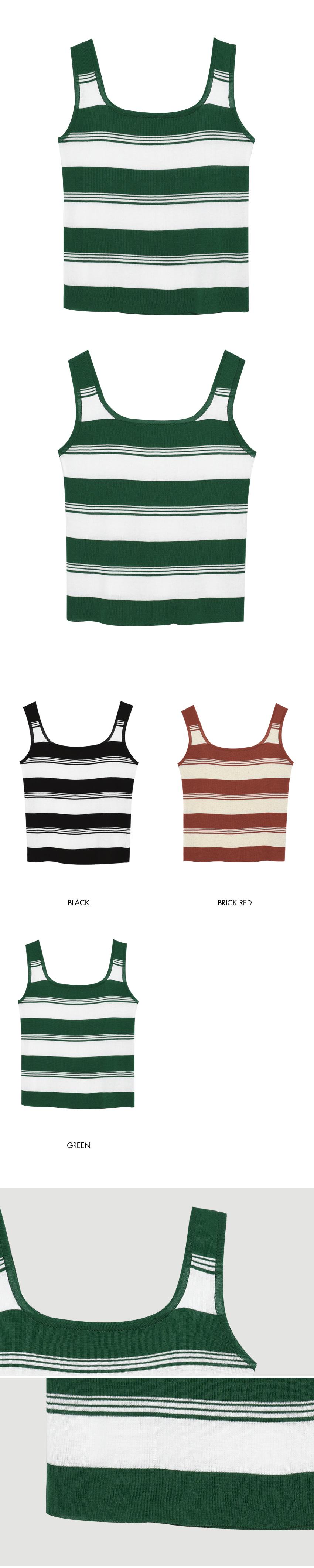 Stripe Sleeveless