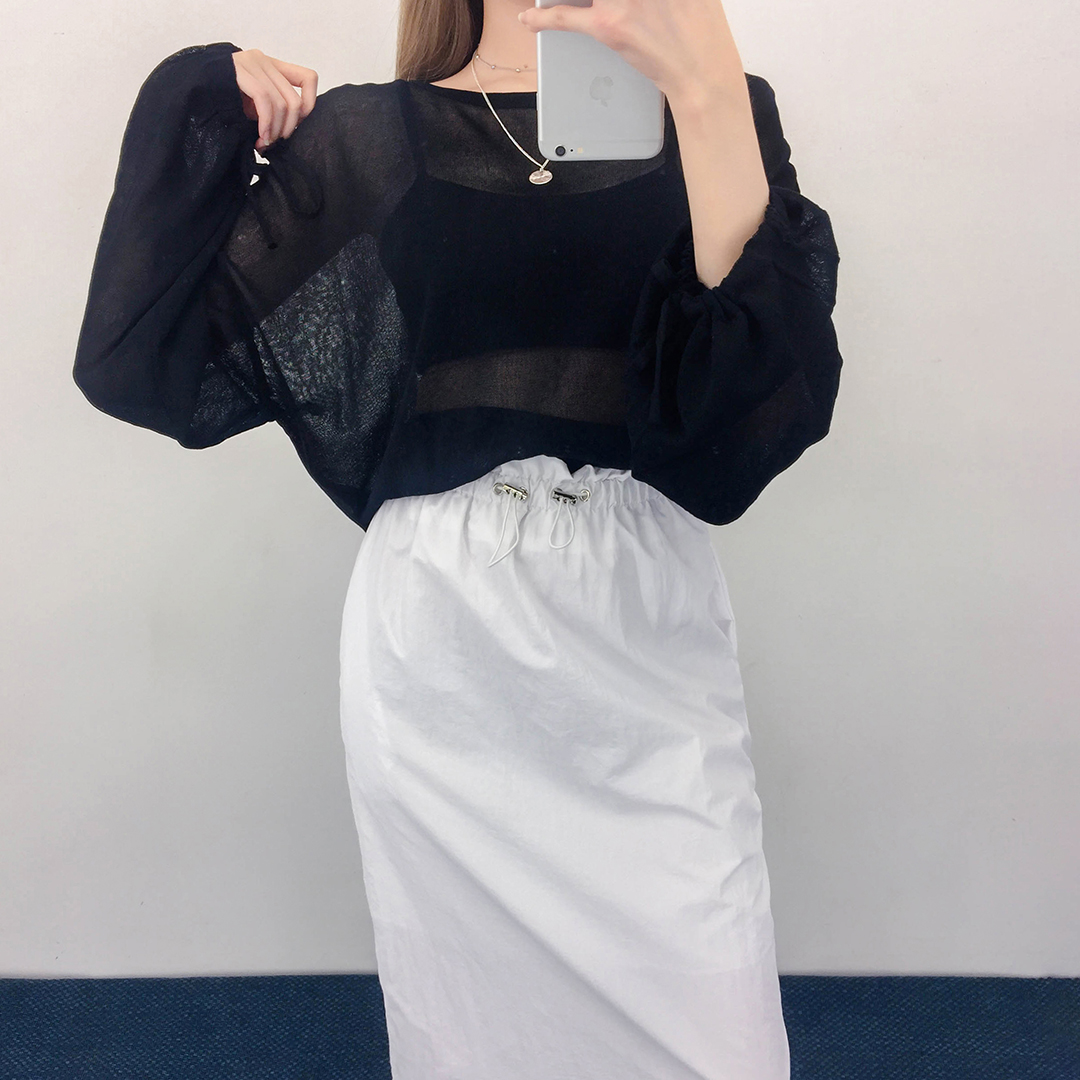 Amu Bag Open Ribbon Tee