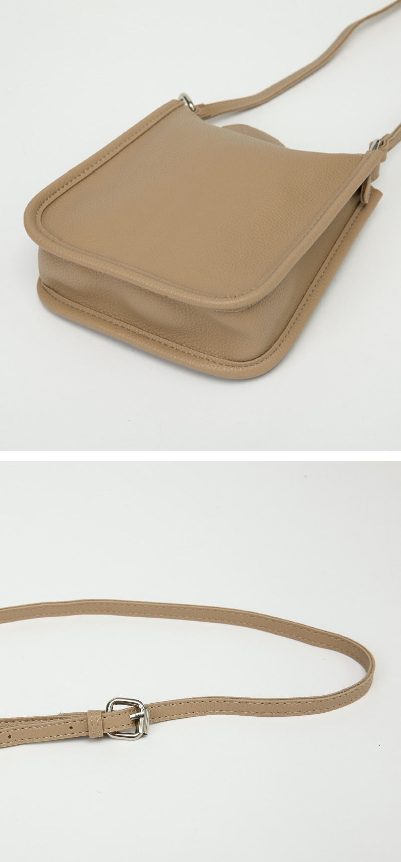 Page square cross bag_C