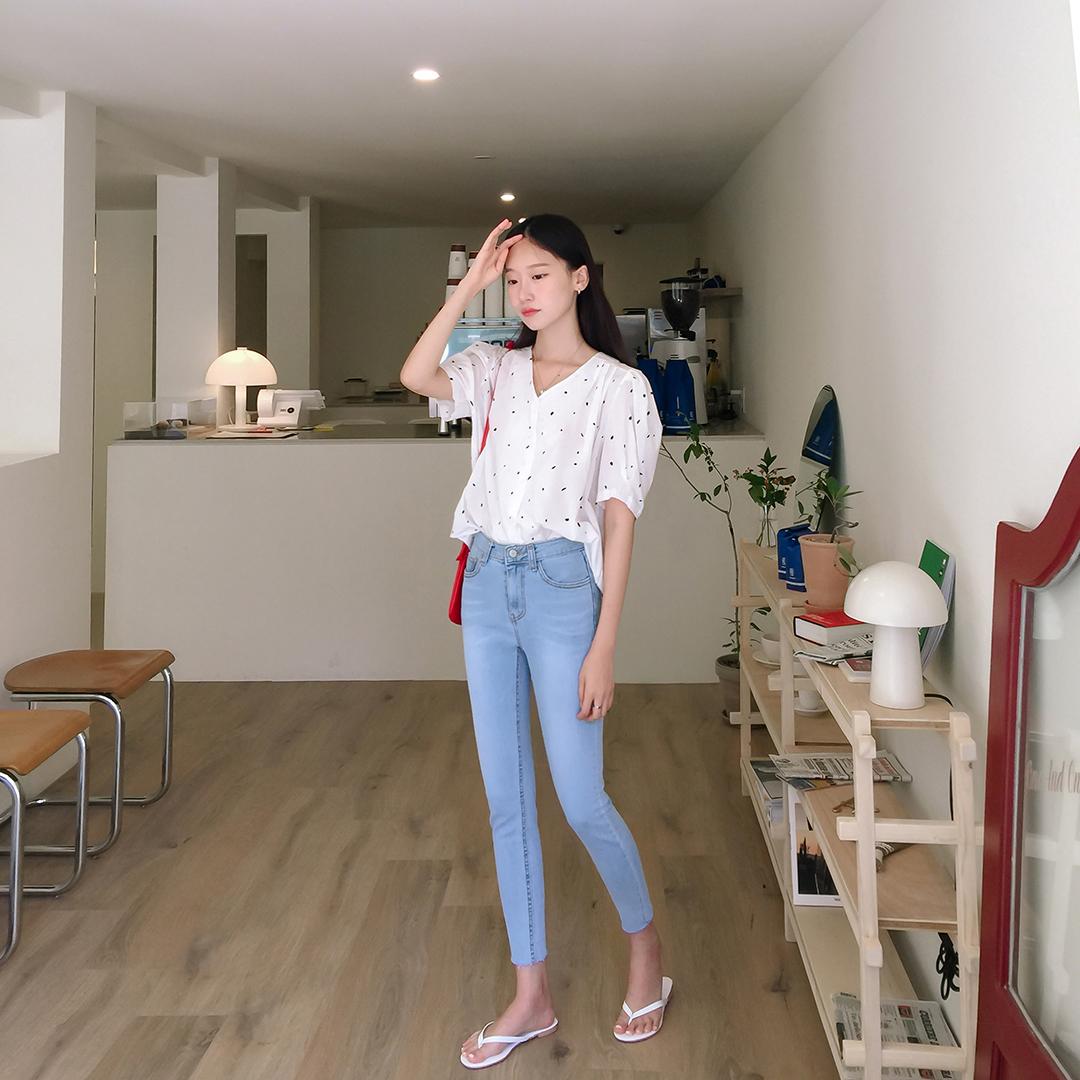 990 Skinny denim pants