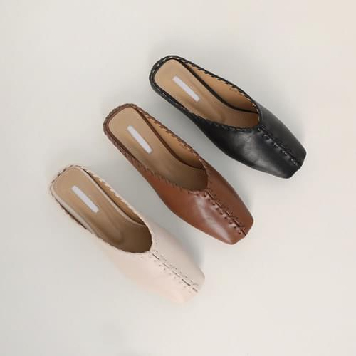 Cork Square Loafers