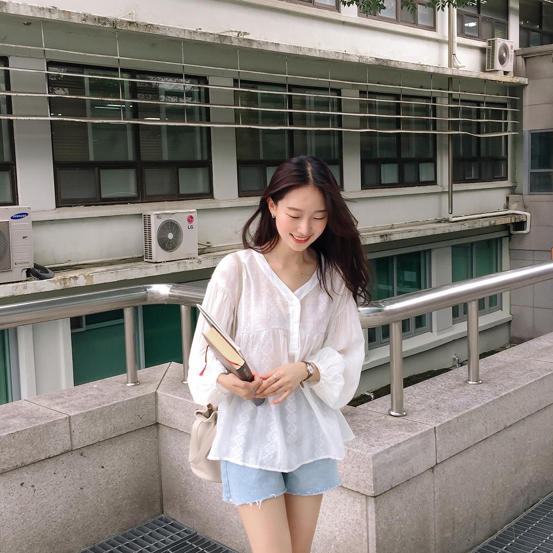 Snowflake blouse