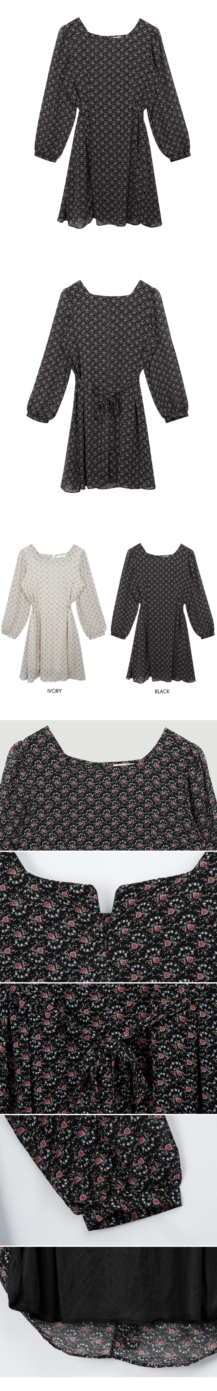 Rose Square Dress