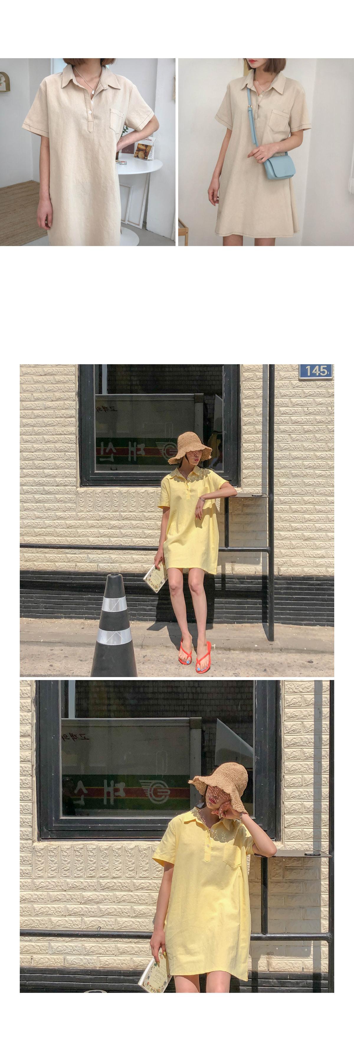 Mono Shirt Dress