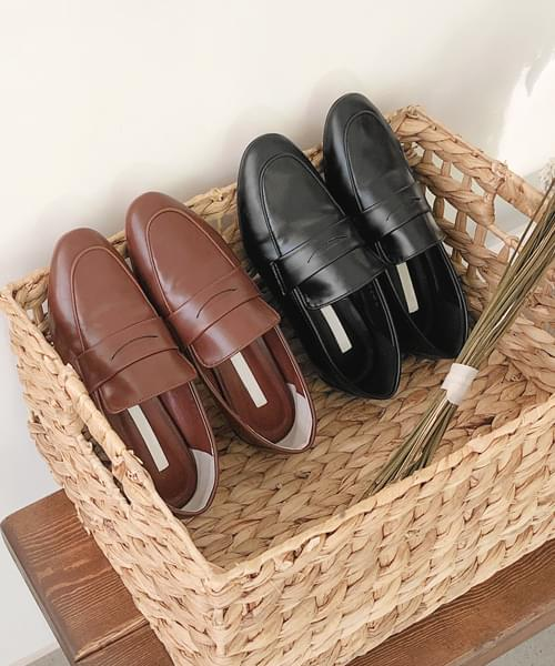 Simple classic mood loafers