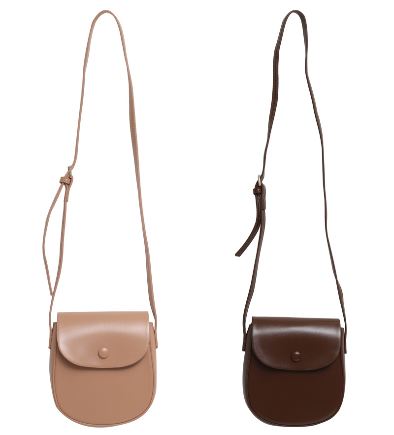Snap button cross bag_Y (size : one)