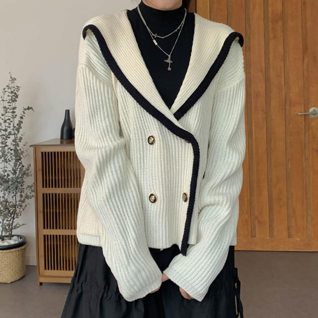 Double Bridge Knit Cardigan