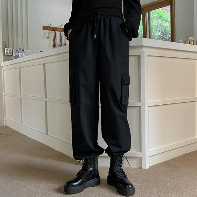 Cargo sander jogger pants
