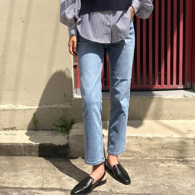 Banhai West Straight Fit Pants 牛仔褲