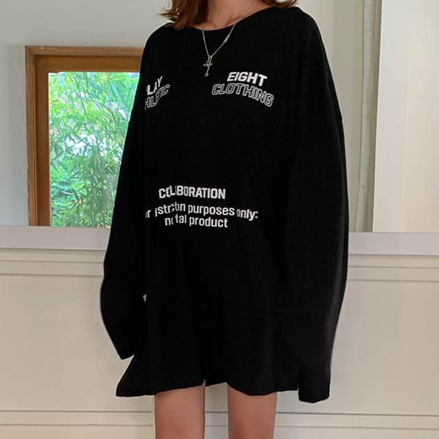 Loose Fit Ein Long T-shirt & Dress