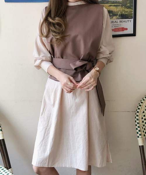 Sense Layered Dress + Best SET 套裝