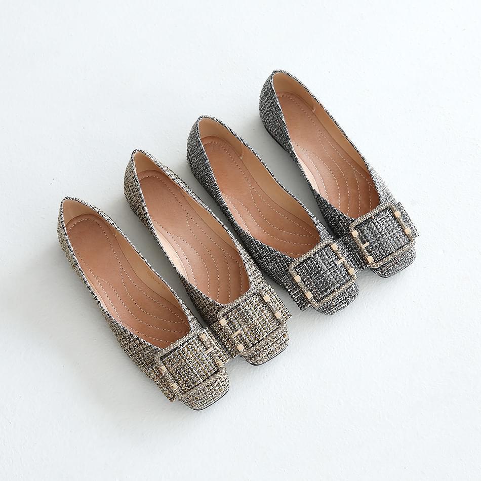 Anbel Flat Shoes 1cm